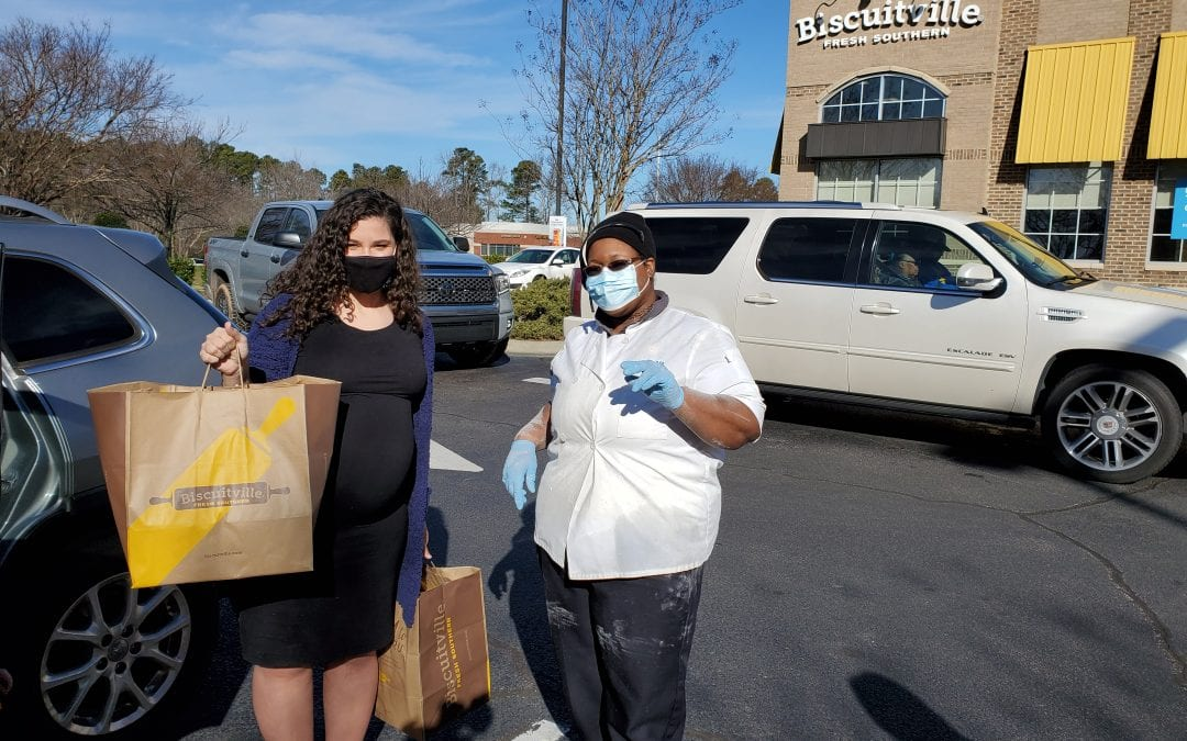 Biscuitville Helps Spread Kindness Thanking Local Heroes