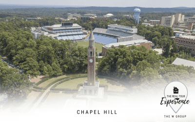 Chapel Hill wins newcomers' hearts with its small town vibes