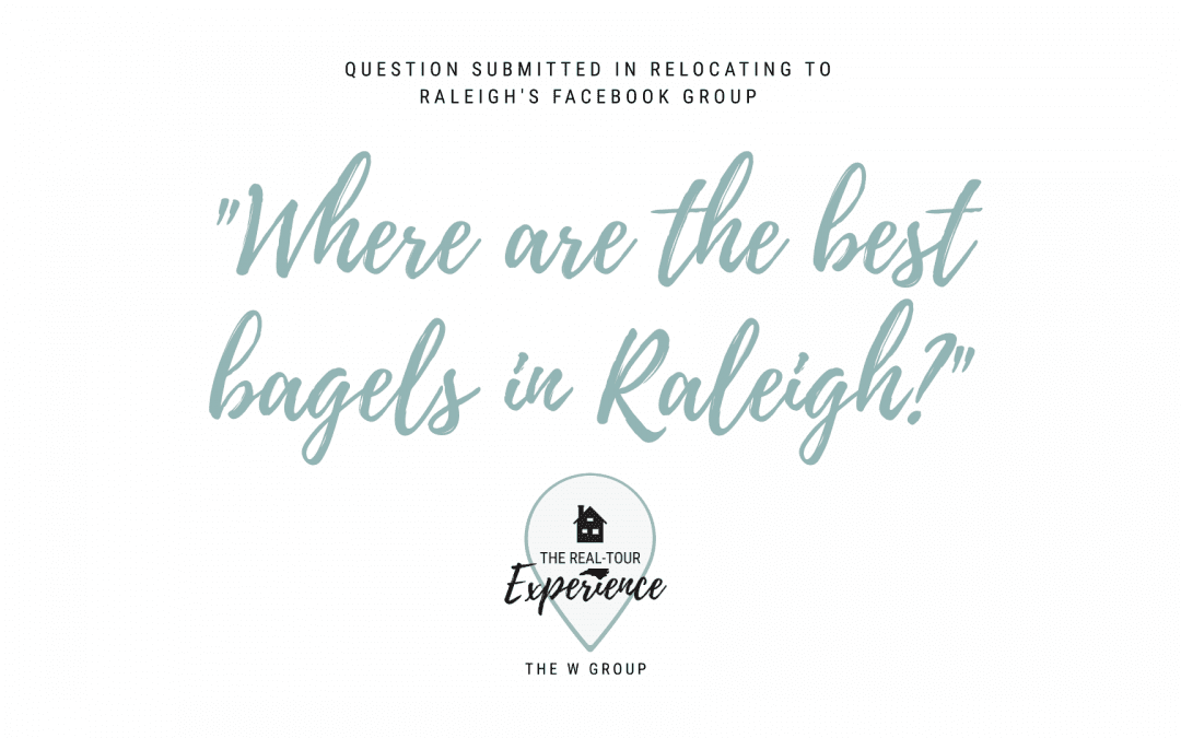 Where Are the Best Bagels in Raleigh?