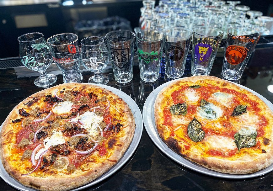 V Pizza's most desired pizza creations