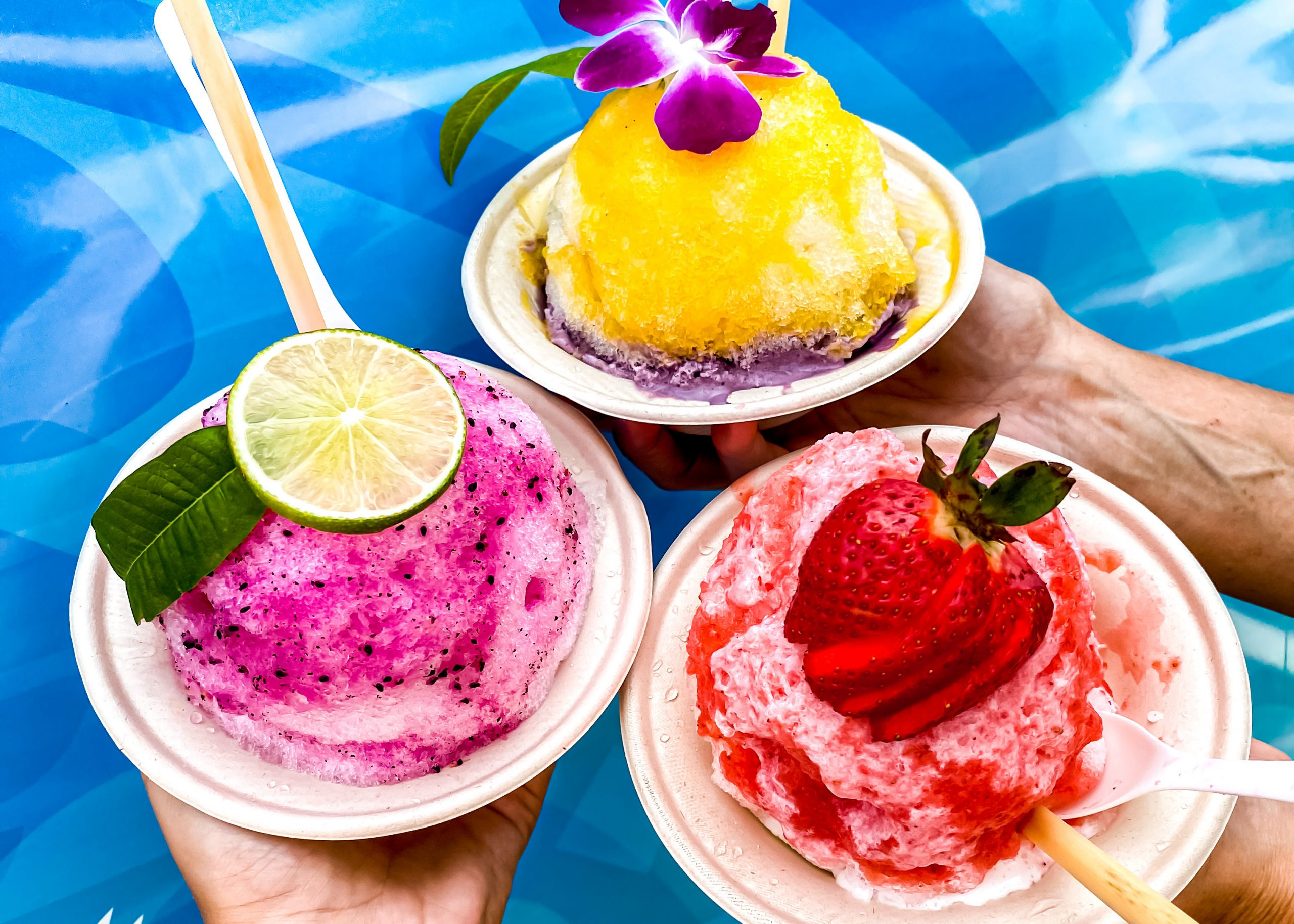 waves shave ice