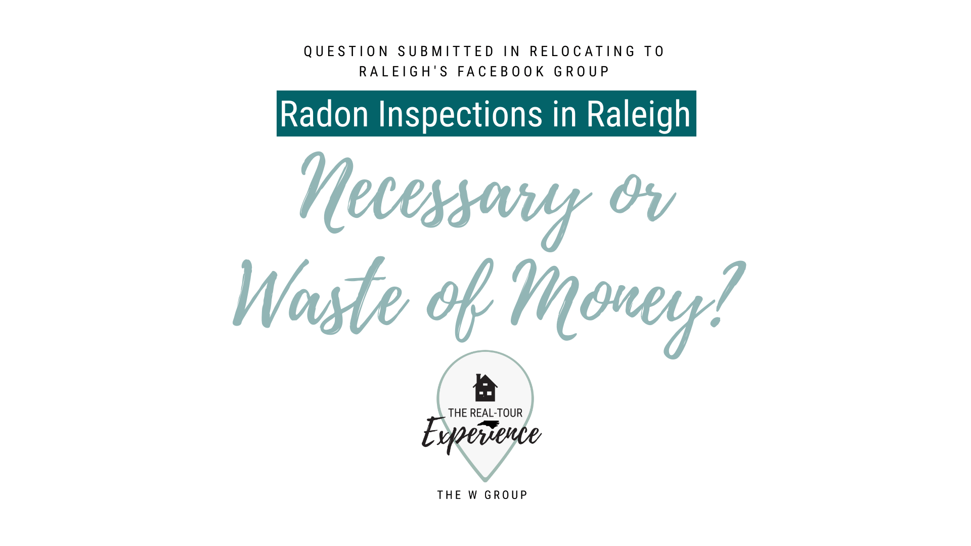 Radon Inspections   Real-Tour Experience